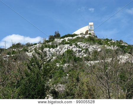 A chapel on a Croatian hill