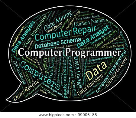 Computer Programmer Means Software Engineer And Communication