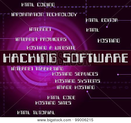 Hacking Software Means Program Shareware And Crack