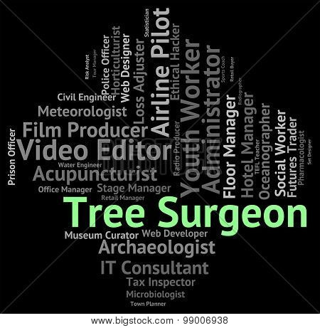 Tree Surgeon Means Job Jobs And Hiring