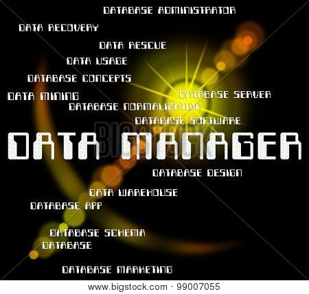Data Manager Shows Bytes Director And Managers