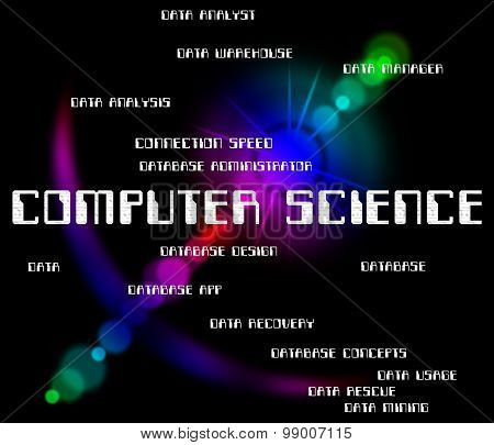 Computer Science Indicates Information Technology And Biology