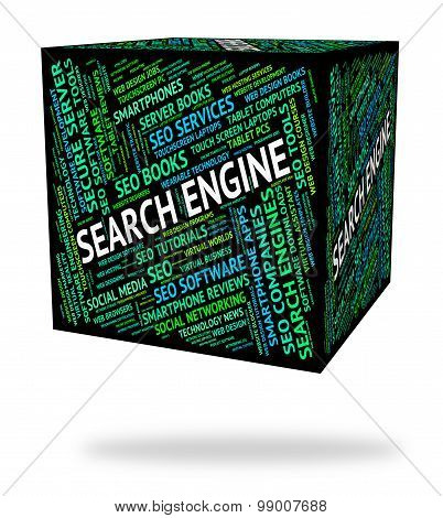 Search Engine Means Gathering Data And Analysis