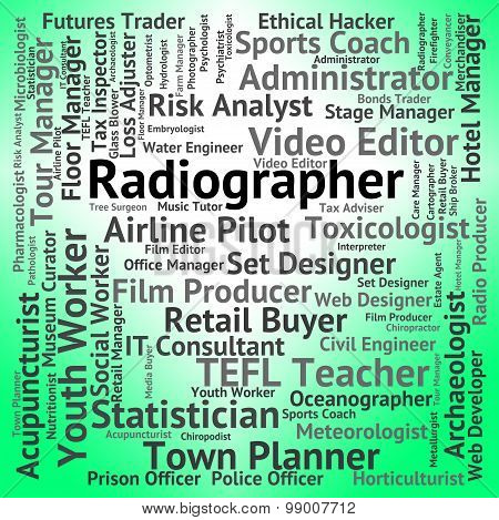 Radiographer Job Shows Career Recruitment And Hiring