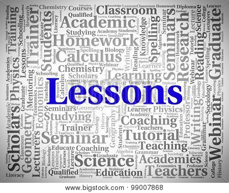 Lessons Word Indicates Seminar Words And Classes
