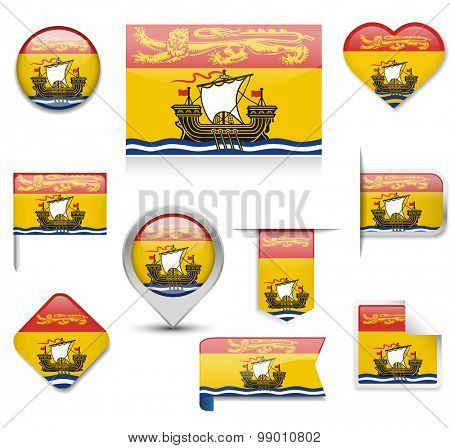 New Brunswick Flag Collection