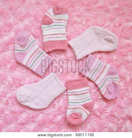 Layette for newborn baby girl