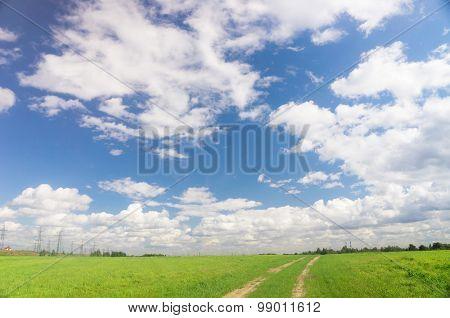 Cloudy Outdoor Clean Air