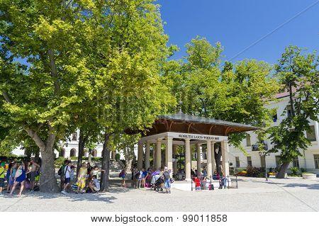 Kossuth Lajos Fountain In Balatonfured
