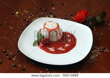 Dragonfruit With Jam