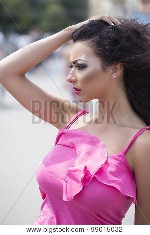 Portrait Of Sensory Woman