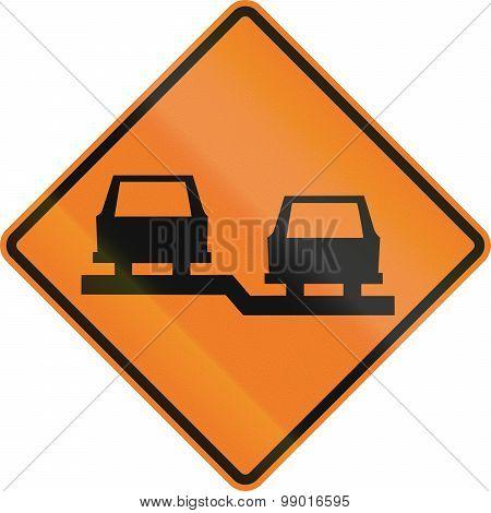 Uneven Lanes In Canada