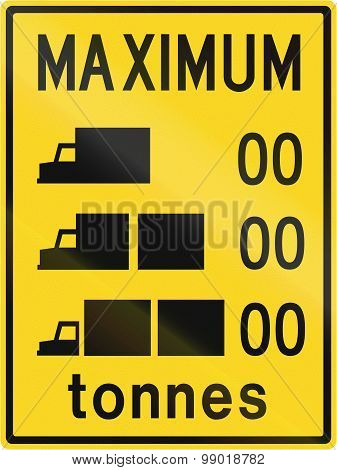 Lorry Weight Limits In Canada