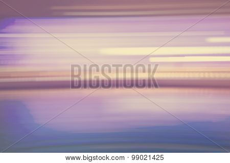 Abstract Light Purple Streaked City Lights Background