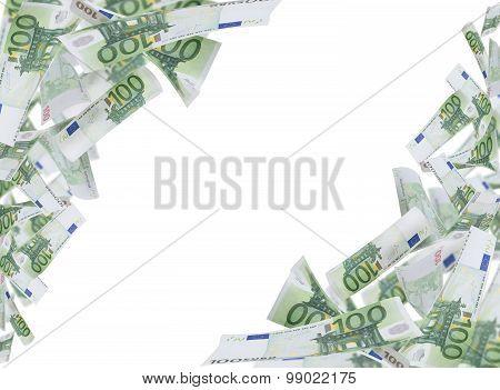 Hundred Euro Notes Frame