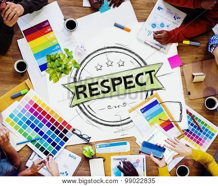Respect Honesty Honorable Regard Integrity Concept