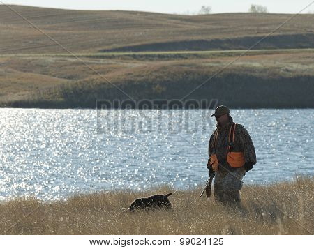 Hunter and his Dog