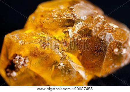 Sulfur Or Sulphur Crystals