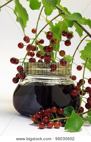 Chokecherry Jam Jar