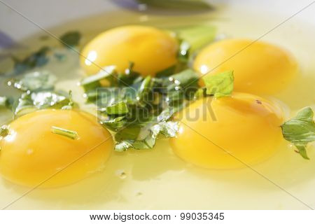 Eggs Ready To Be Beaten
