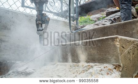 Jackhammer In Action