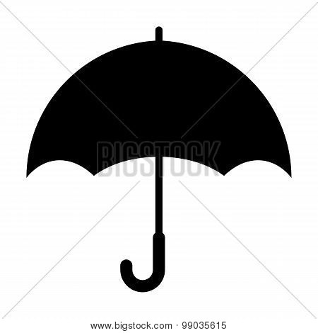 Keep Dry Packaging Symbol On White Background, Vector Illustration