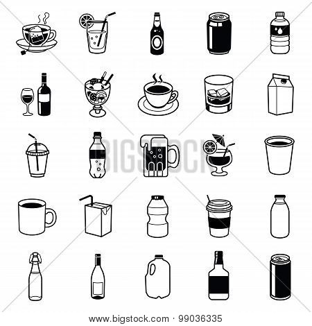Drinks and Beverage containers