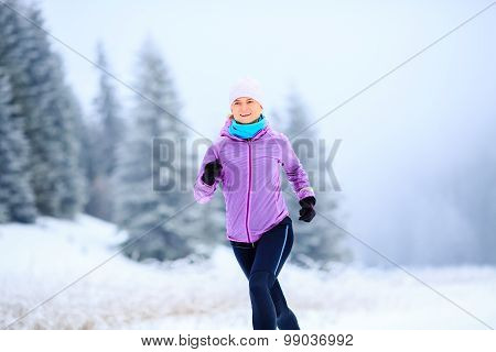 Woman Running Inspiration And Motivation, Runner