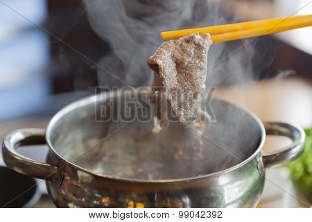 Beef With Steam