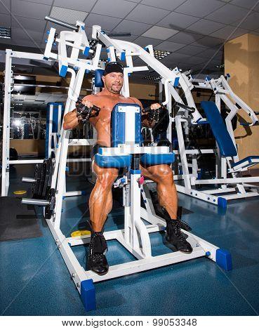 Athlete Handsome Bodybuilder