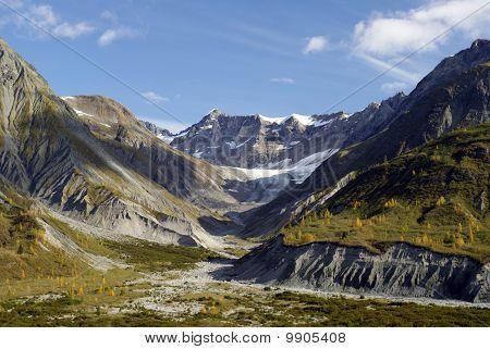 Berge im Glacier-Bay