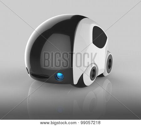 Futuristic vehicle