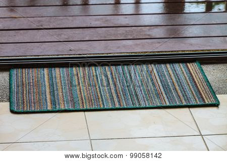 Doormat With Open Door