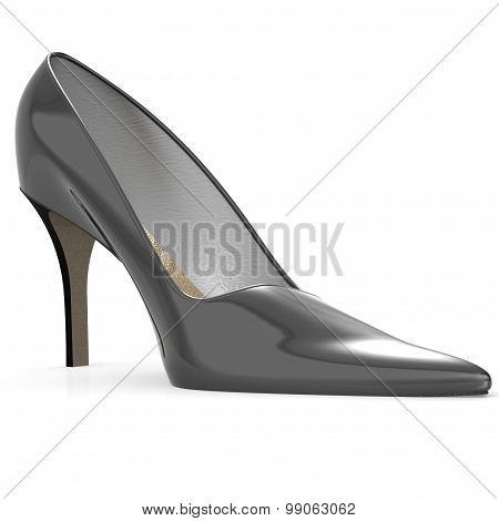 Black High Heel Shoe