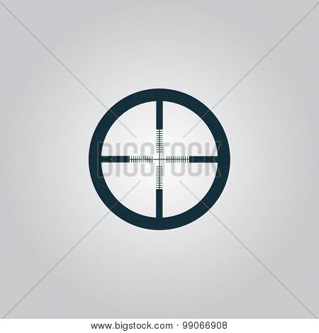 icon of crosshair