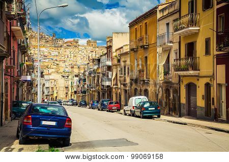 The Street Of Caltagirone