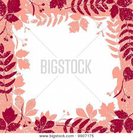 autumn leaves grange border