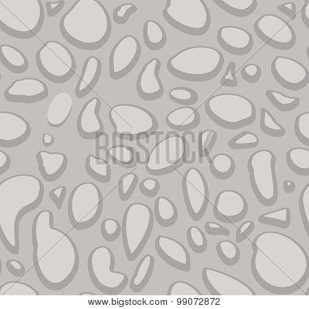 Dotted stone wall seamless pattern