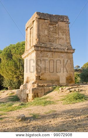 Tomb Of Teron, Agrigento