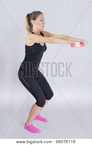 Woman workout