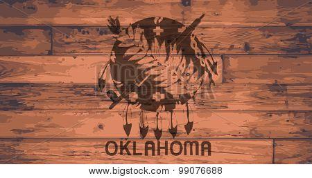 Oklahoma Flag Brand