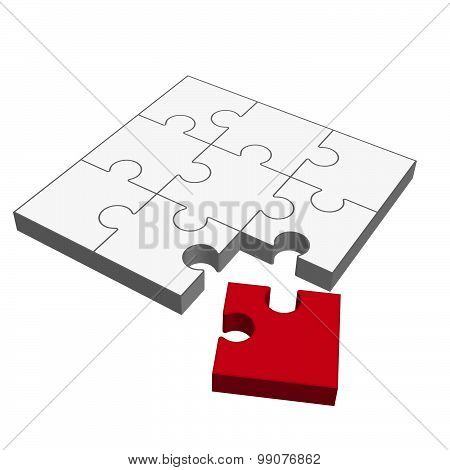 Puzzle 3D - Does Not Fit!