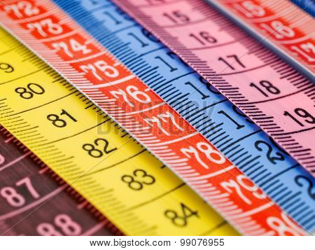 Colorful Measuring Tapes