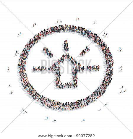 group  people  shape  speedometer