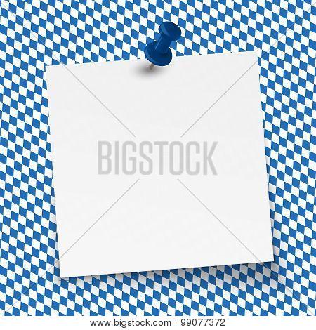 Oktoberfest Background - Empty Note