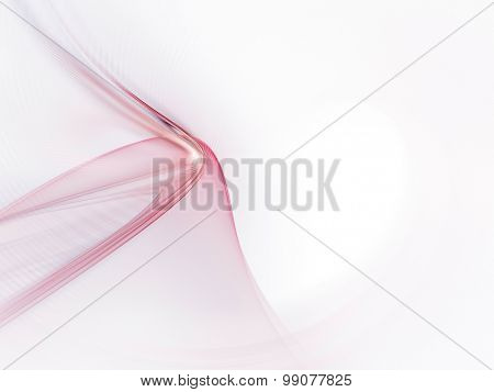 Abstract red background. Detailed computer graphics.