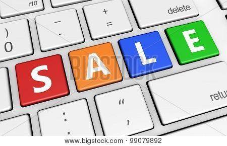 Sale Web Shopping Marketing