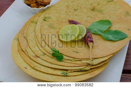 Spinach Khakra