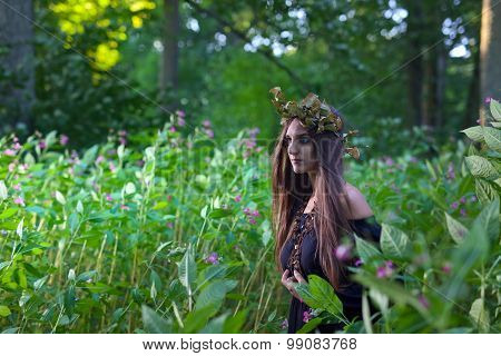 Witch In Dark Forest
