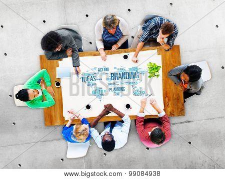 Branding Ideas Commercial Advertising Trademark Concept